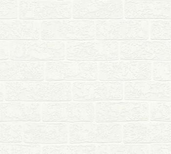 Vliestapete Weiße Maueroptik