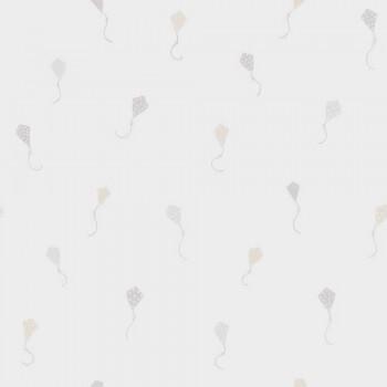 Vliestapete Beige Drachenmotive Pastell