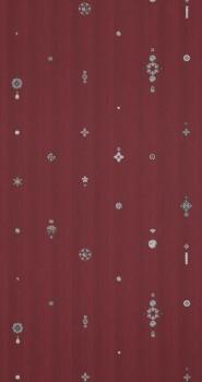 12-218650 BN/Voca Neo Royal wein-rot Vliestapete Flur Diamanten