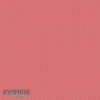 Baumwoll-Stoff Rot Punkte Mädchen