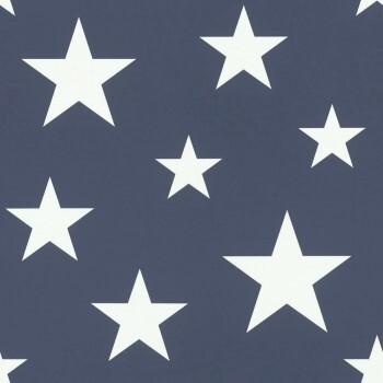 Vliestapete Sterne Dunkelblau