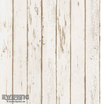 Strictly Stripes 23-362267 Vinyltapete hell-beige Holzoptik