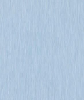 Vliestapete Streifen-Muster Hell-Blau Uni