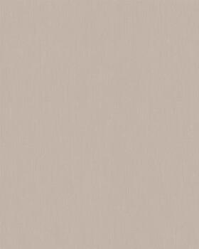 Vliestapete Streifen Beige-Grau Uni
