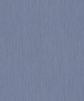 Vliestapete Jeans-Blau Streifen Uni