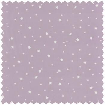 Dekostoff Sterne Lila Babyzimmer