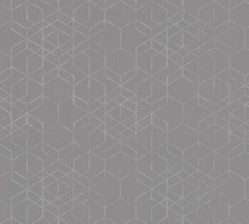 AS Creation Björn 34869-2, Tapete Vlies mittel-grau grafisches Muster