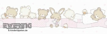 Borte Kinderzimmer Rosa Tiere