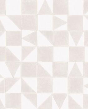 Tapete Scandinavisch Muster Beige