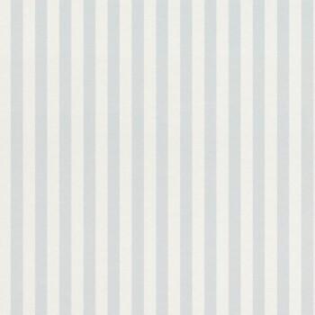 Hell-Blau Streifen-Tapete Vlies
