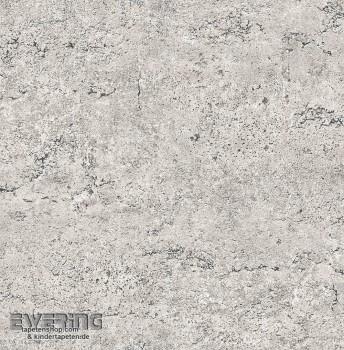 23-022313 Reclaimed Rasch Textil Vliestapete Mauerputzoptik grau