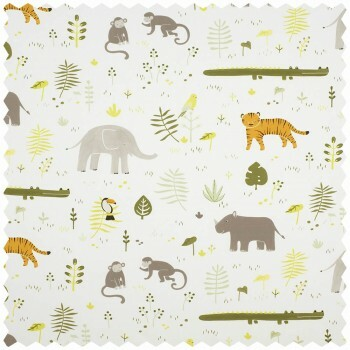 Tropik Dekostoff Tiere