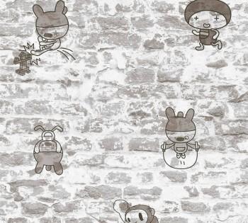 Vliestapete Graue Mauer