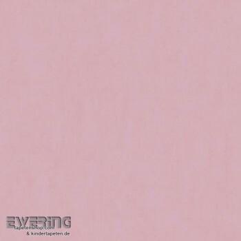 Uni-Tapete Rosa Papier-Tapete