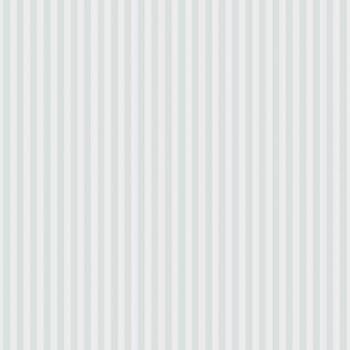 Vliestapete Hell-Blau Weiße Streifen