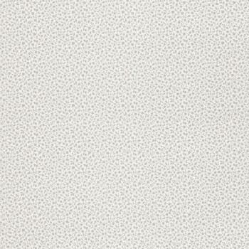 Blumen-Muster Tapete Grau Vlies