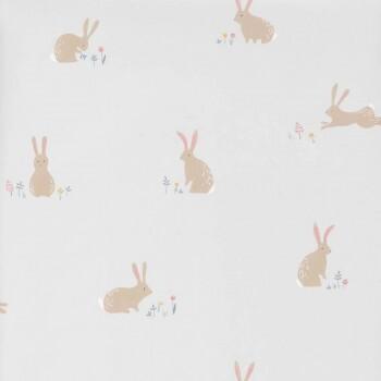 Hell-Grau Tapete Kaninchen