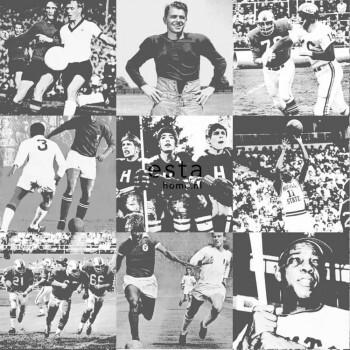 Fotos Sportarten Schwarz-Weiß Vlies