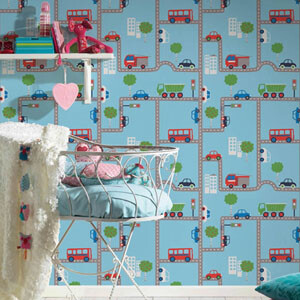 kinderzimmerapete-as-creation-boys-and-girls-5-blau-strasse-auto