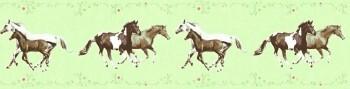 Borte Vlies Pferde Hellrün