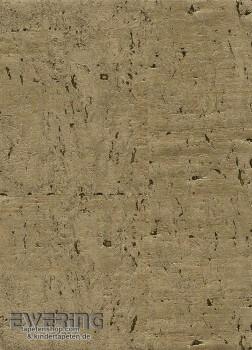 23-213828 Vista 5 Rasch Textil grün-gold Kork-Tapete glänzend