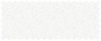Dekostoff graues Blümchen Muster