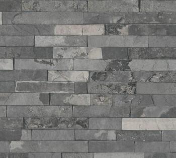 Vliestapete AS Creation Best of Wood'n Stone 355824 stein-grau Mauer-Optik