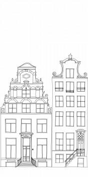 Amsterdam Wandbild Xl