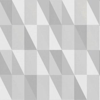 Vliestapete Grau Grafisches Muster