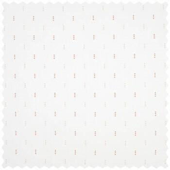 Weiß Muster Dreieck Dekostoff