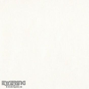 Creme-Weiß Uni Papiertapete Mädchen