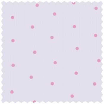 Pink Punkte Stoff Mädchen