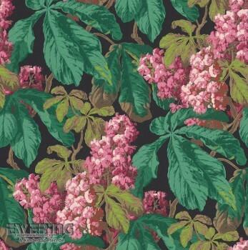 Rasch Textil Cassata 23-256535 Vliestapete dunkel-grün Blätter