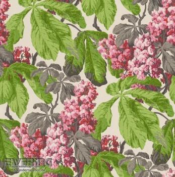 23-256528 Cassata Rasch Textil hell-grün Vliestapete Blätter