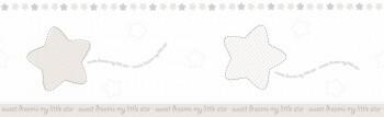 Borte Sterne Beige-Weiß Babyzimmer Lullaby