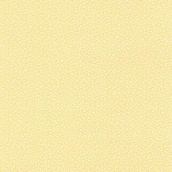 Muster-Tapete Gelb Vlies Blumen