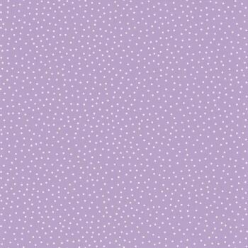 Vlies-Tapete Lila Weiße Punkte