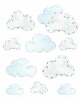 Wolken Sticker Hellblausticker