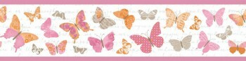 Borte Pink Schmetterling