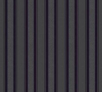 Vliestapete Neue Bude 2.0 AS Creation 8-36167-3 schwarz Streifen Glitzer
