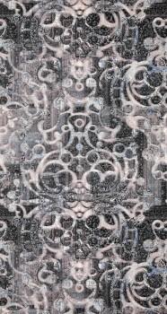 12-218601 BN/Voca Neo Royal Vlies grau-blau Muster-Tapete