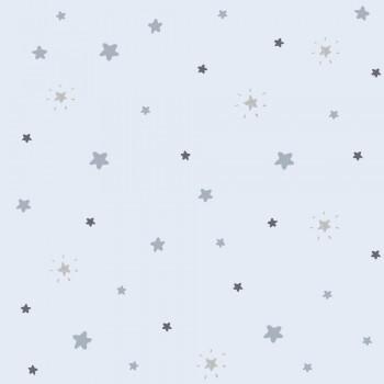 Sterne Hellblau Tapete