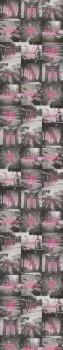 Papiertapete Wandbild Pink