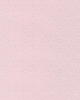 Pink shimmer wallpaper flowers pattern