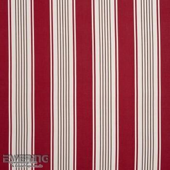 Casadeco - Chantilly 36-CHT15488103 Dekostoff Streifen rot