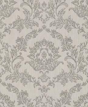 Rasch Textil Velluto 23-074894 Textiltapete braun Schlafzimmer Barock