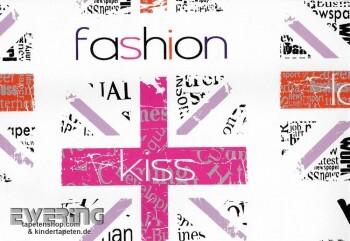 Vliestapete Fashion Pink Mädchen