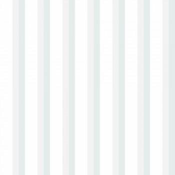 Tapete Streifen Hellblau-Grau Lullaby
