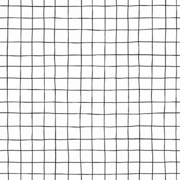 Wandbild Schwarz Weiß Karomuster
