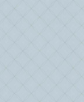 Vliestapete Geometrische Linien Türkis Aqua